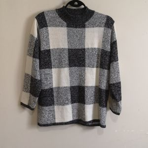 ✨3/30$✨Vintage Checkered Sweater